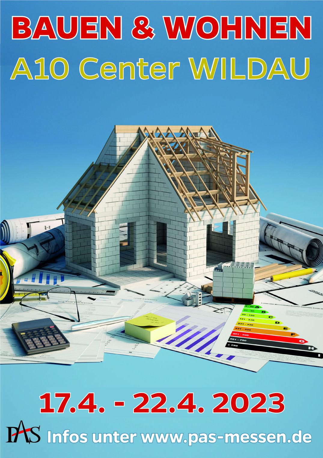 Messe Bauen & Wohnen im A10 Center Wildau